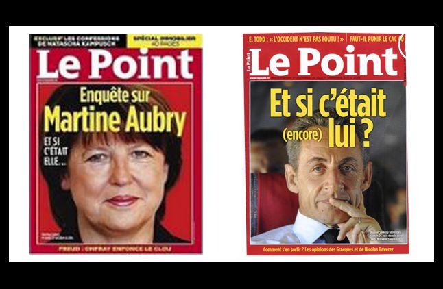 """""""Le Point"""", en 2010 et 2011."""