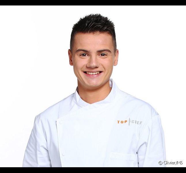 "Gabriel Evin, candidat de ""Top Chef"" 2016"