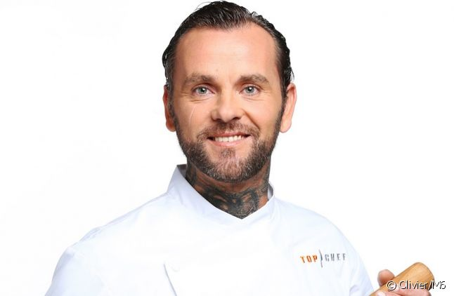 """Franck Radiu, candidat de """"Top Chef"""" 2016"""