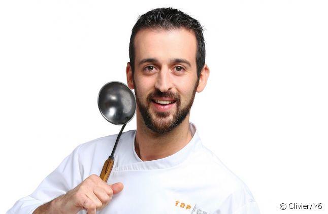 """Clément Bruneau, candidat de """"Top Chef"""" 2016"""