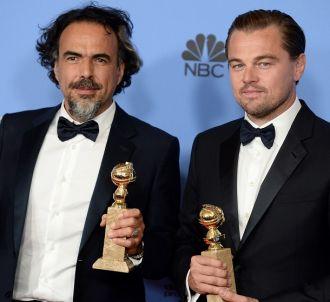 <span>Alejandro G. Inarritu et Leonardo DiCaprio...