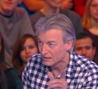 Gilles Verdez énervé contre Michel Onfray.
