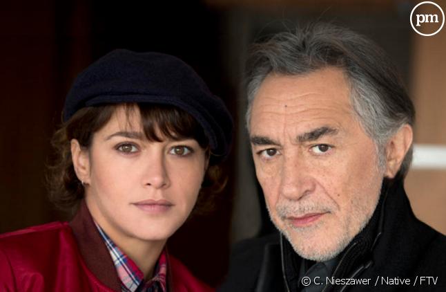 """Emma De Caunes et Richard Berry dans """"Lanester : Memento Mori"""""""