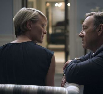 Robin Wright et Kevin Spacey dans 'House of Cards'