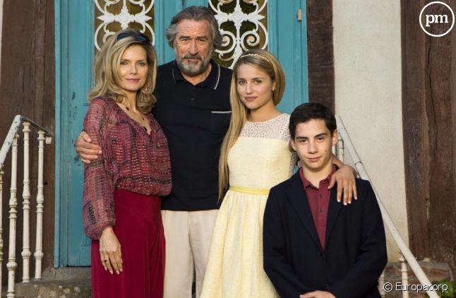 """""""Malavita"""" avec Michelle Pfeiffer et Robert De Niro"""