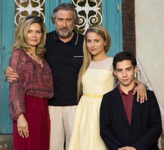 'Malavita' avec Michelle Pfeiffer et Robert De Niro