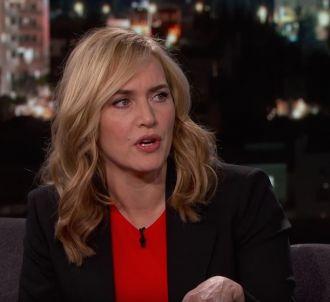 Kate Winslet évoque la fin de 'Titanic' chez Jimmy Kimmel