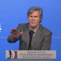 Déchéance de nationalité : Stéphane Le Foll fortement agacé par des journalistes
