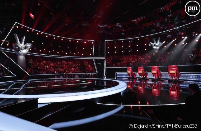 """Le plateau de """"The Voice"""" saison 5"""