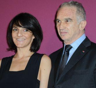 Florence Foresti et Alain Terzian, président de l'Académie
