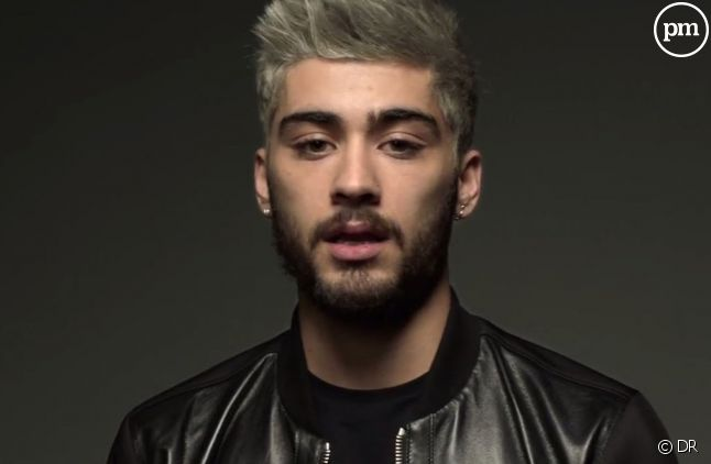 "Zayn dans le clip ""Pillowtalk"""