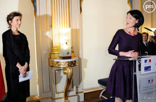 Vendredi, Fleur Pellerin a passé les commandes du ministère de la Culture à Audrey Azoulay