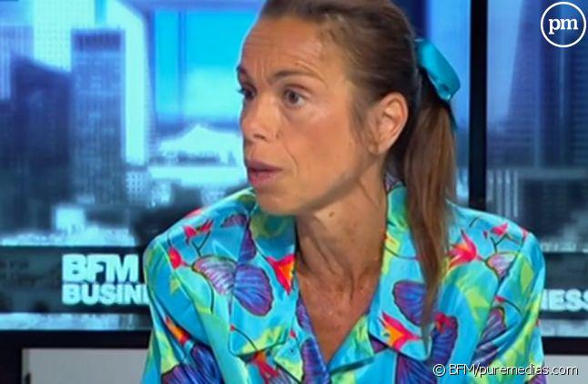 Agnès Saal, ancienne présidente de l'INA.