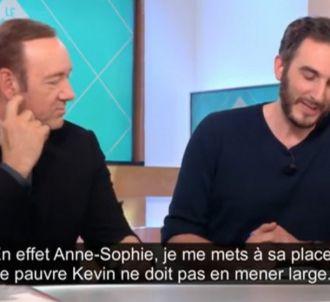 Kevin Spacey dans 'C à vous' sur France 5
