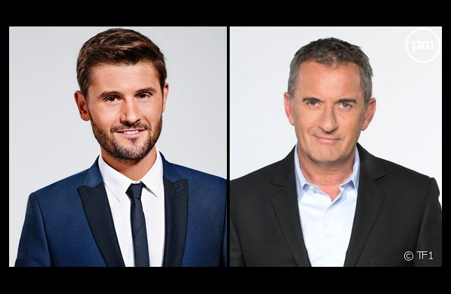 Christophe Beaugrand et Christophe Dechavanne.