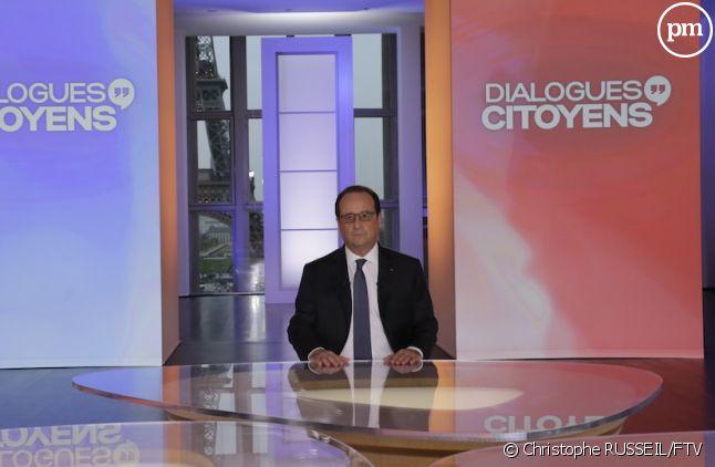 """François Hollande a-t-il intéressé les téléspectateurs avec """"Dialogues citoyens"""" ?"""