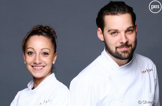 """Coline et Xavier, finalistes de """"Top Chef"""" 2016"""