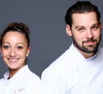 Coline et Xavier, finalistes de 'Top Chef' 2016