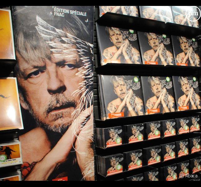 Renaud en tête des ventes d'albums en France