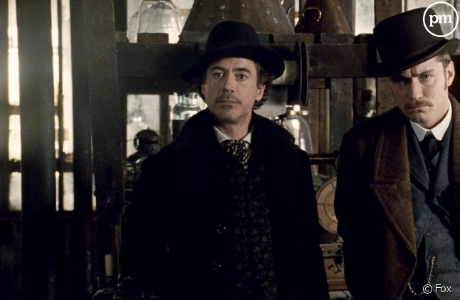 Robert Downey, Jr. et Jude Law sont Holmes et Watson