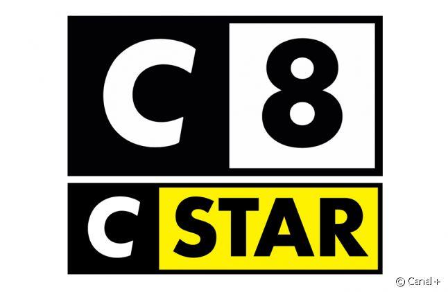Les logos de C8 et CSTAR