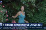 BFMTV : Fanny Agostini, Ruth Elkrief et Dominique Rizet sous la douche pour une bonne cause