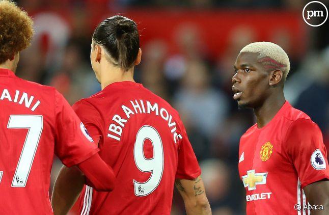 Paul Pogba et Zlatan Ibrahimović, nouvelles stars de Manchester United
