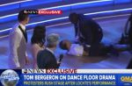 "Deux manifestants s'immiscent en direct sur le plateau de ""Dancing With the Stars"""