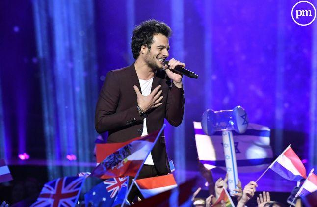 Amir lors de l'Eurovision 2015