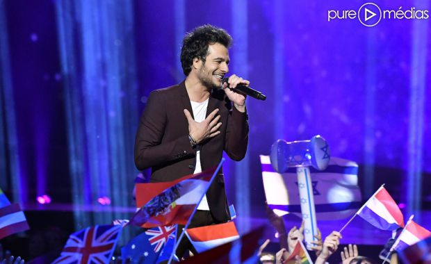 amir lors de l 39 eurovision 2015 photo. Black Bedroom Furniture Sets. Home Design Ideas