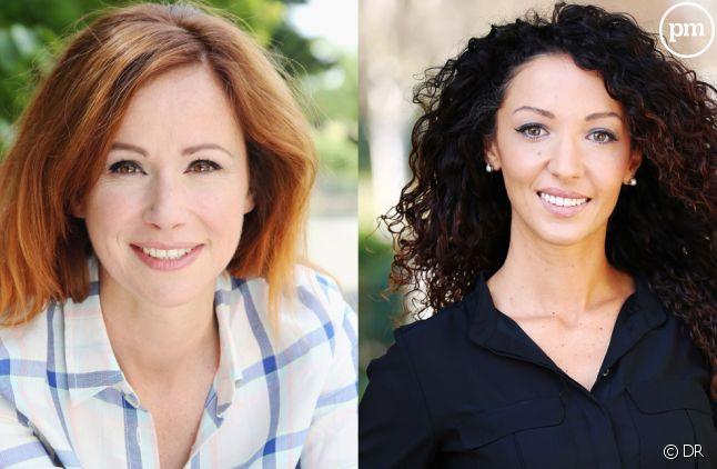 """Sophie Ferjani (""""D&CO"""") et Emmanuelle Rivassoux (""""Maison à vendre"""")."""
