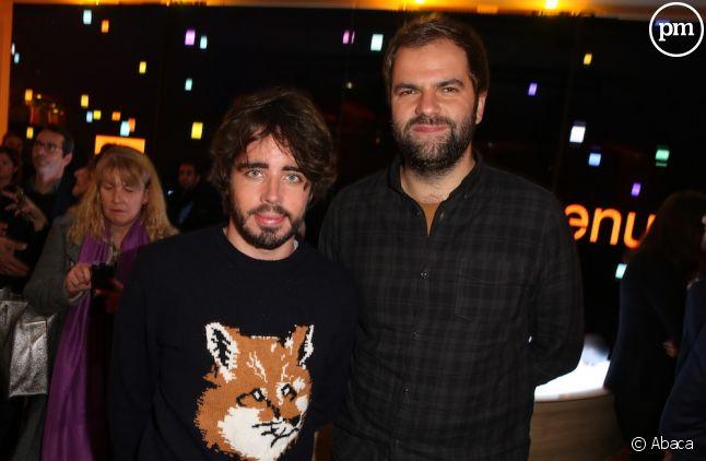 Eric et Quentin du groupe TF1