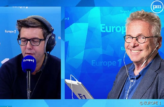 Maxime Switek et Daniel Cohn-Bendit