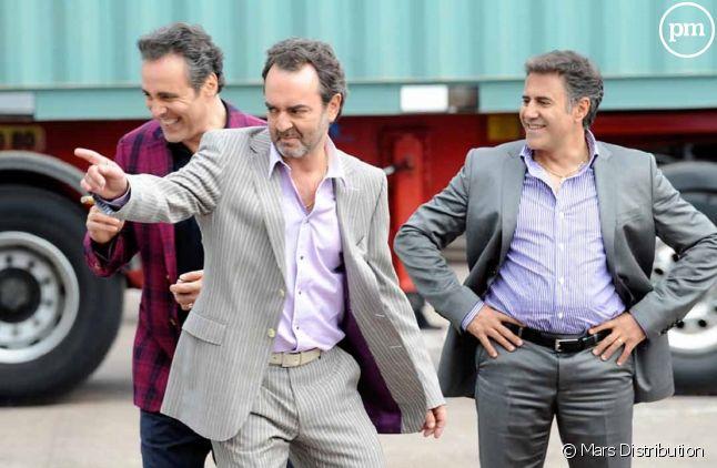 """Bruno Solo, Gilbert Melki et José Garcia dans """"La Vérité si je mens 3"""""""
