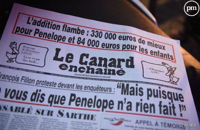 """""""Le Canard enchaîné"""""""