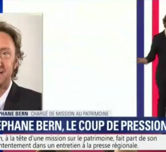 Stéphane Bern sur BFMTV