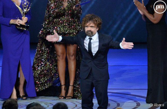 """Peter Dinklage a reçu l'Emmy du meilleur second rôle masculin dans une série dramatique pour """"Game of Thrones"""""""