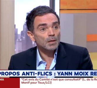 Yann Moix s'explique sur LCI.