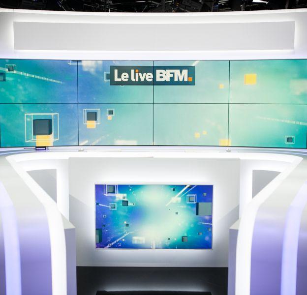 Le nouveau plateau de BFMTV