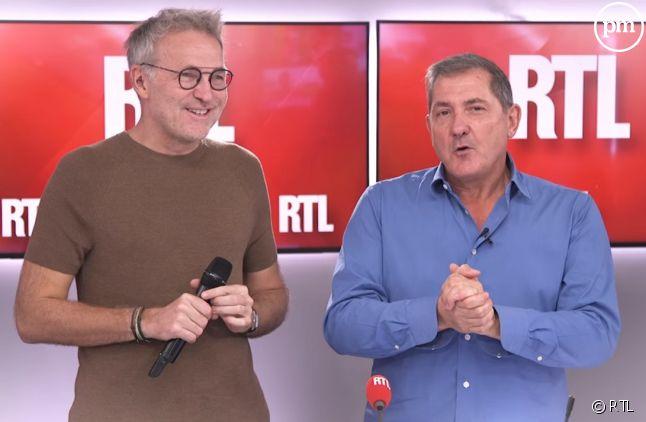 Laurent Ruquier et Yves Calvi