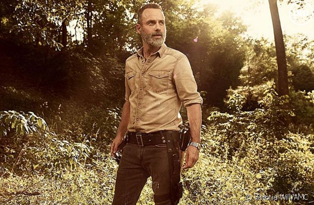 "Andrew Lincoln (Rick Grimes) dans ""The Walking Dead""."
