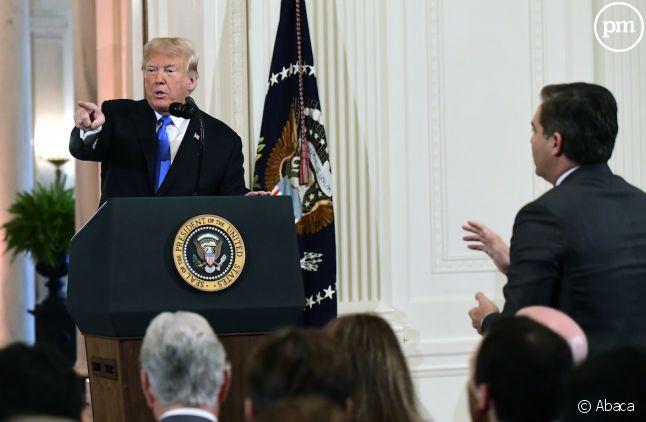 La Maison Blanche jette l'éponge dans le bras de fer avec CNN