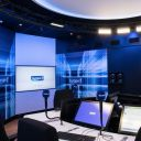 Le nouveau studio Jean-Luc Lagardère où sera notamment enregistrée la matinale