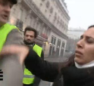 Salhia Brakhlia violentée lors des manifestations à Paris.
