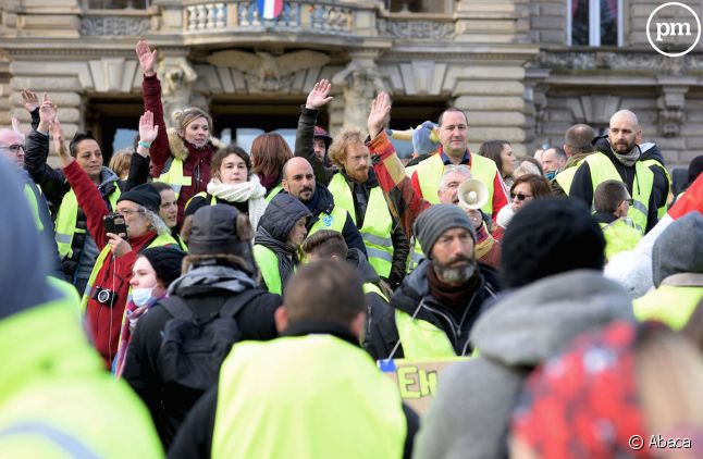 Gilets jaunes à Strasbourg