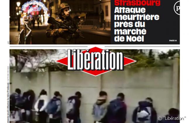 """Une de """"Libération"""" ce mercredi 12 septembre 2018."""