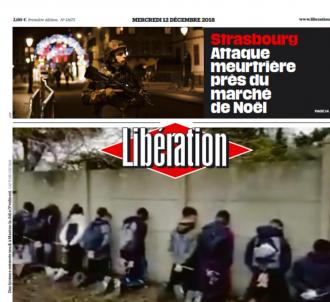 Une de 'Libération' ce mercredi 12 septembre 2018.