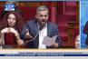 Temps de parole d'E. Macron dans les médias : Vif échange entre Alexis Corbière et Franck Riester à l'Assemblée