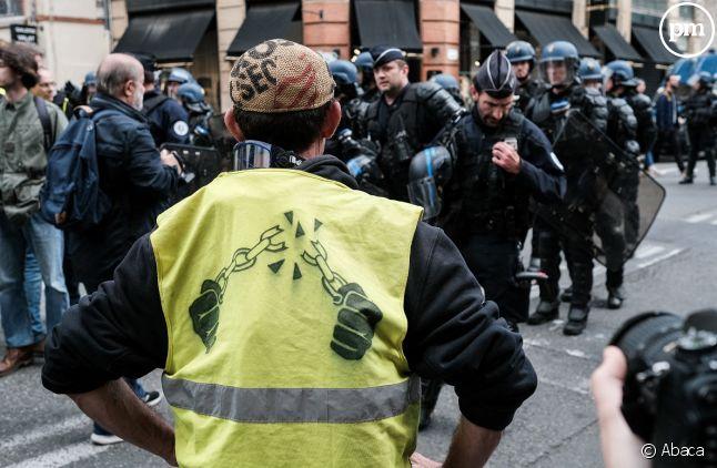 Une manifestation de Gilets jaunes à Toulouse samedi dernier