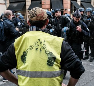 Une manifestation de Gilets jaunes à Toulouse samedi...